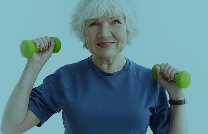 foto post ejercicio físico mayores